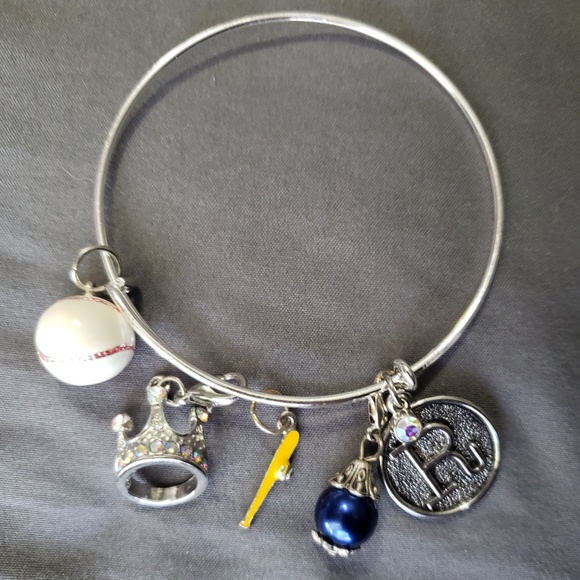Jewelry - KC Royals Charm Bracelet & Matching Necklace